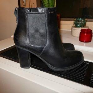 Geox Abx Waterproof leather block heel boots (7)